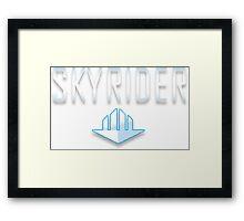 SkyRider Logo! Framed Print