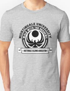 Nightingale University - Black - Skyrim T-Shirt