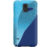 Blue fox mask with moon Samsung Galaxy Case/Skin