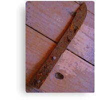 Rusty and Forgotten Canvas Print