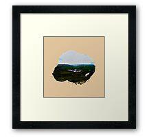Eroded Composition | Nine Framed Print