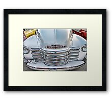 Chevy Pickup Classic Auto Series # 22 Framed Print