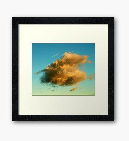 Cloud of Hope Framed Print