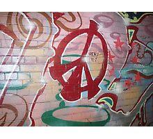Graffiti 4  Photographic Print