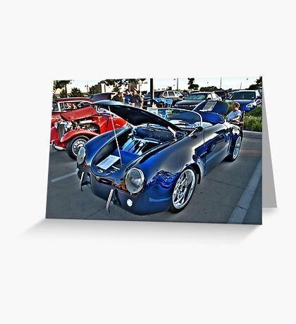 Classic Auto Series # 9 Greeting Card