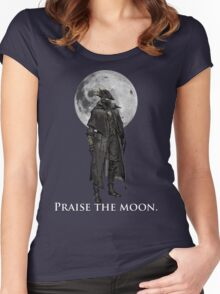 Praise The Moon Women's Fitted Scoop T-Shirt