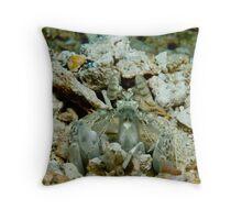 Mantis Shrimp Throw Pillow