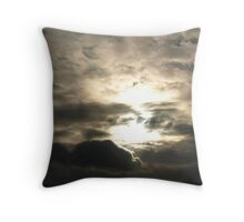 Tortured Sky Throw Pillow