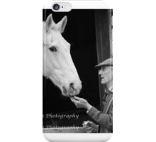 Horse and Master iPhone Case/Skin