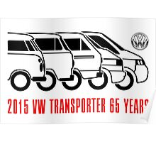 VW Transporter - 'T-volution' Poster