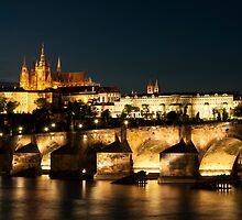 Prague at night. by FER737NG