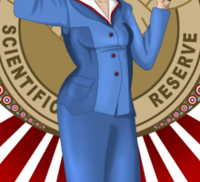 Agent Carter- art nouveau Sticker