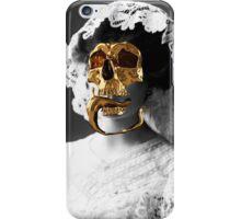 Golden skull iPhone Case/Skin