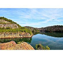 Carter's Lake, Chatsworth, Georgia, USA Photographic Print
