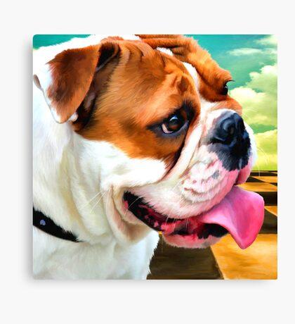 """Salvador Doggie"" Canvas Print"