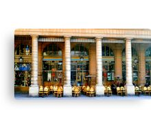Café Bar Canvas Print