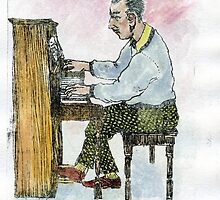 Piano Man by B-WEST