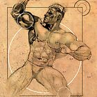 Super Pose 2 by Larry Holmes