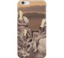 Desert women iPhone Case/Skin
