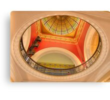 The Grand Dome - Queen Victoria Building , Sydney - TheHDR Experience Canvas Print