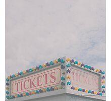 Tickets Photographic Print