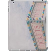 Tickets iPad Case/Skin