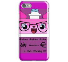 Business Unikitty iPhone Case/Skin