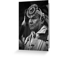 Faces of Native Americans Greeting Card