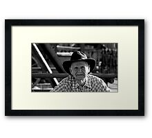 Goldrush Jim Framed Print
