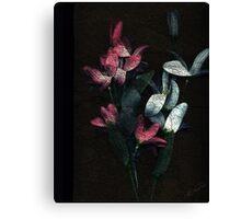 Disposable Flowers Canvas Print