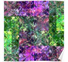 Abstract puzzle Poster