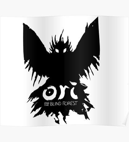 Ori and the Blind forest- Evil owl Poster