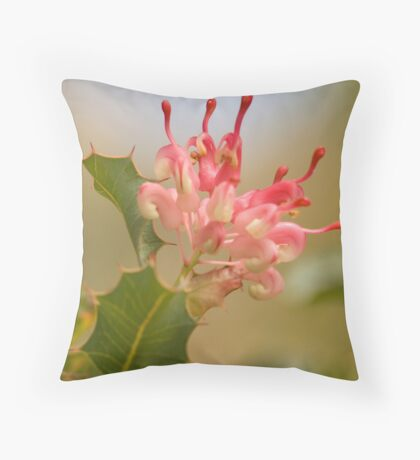 Grevillea Insignis Throw Pillow