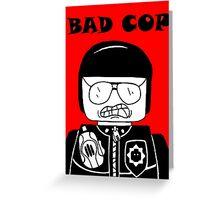 Lego Bad Cop Greeting Card