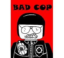 Lego Bad Cop Photographic Print