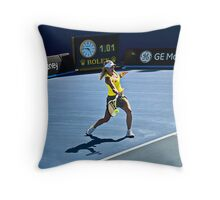 Wozniacki Throw Pillow