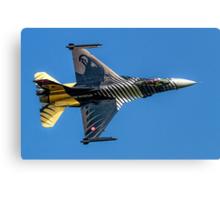 TUSAS-GD F-16C Fighting Falcon 91-0011 Canvas Print