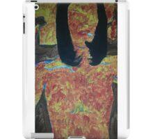 burning woman iPad Case/Skin