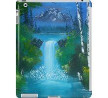 Blue Waterfalls iPad Case/Skin