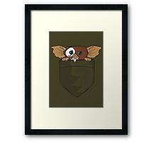 Gizmo In A Pocket Framed Print