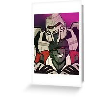 MegatronxStarscream selfie Greeting Card