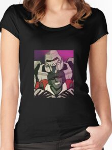 MegatronxStarscream selfie Women's Fitted Scoop T-Shirt