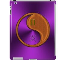Gemini & Boar Yin Wood iPad Case/Skin