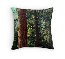 THE TREES OF YOSOMITE Throw Pillow