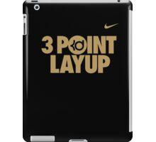 3 Point Layup iPad Case/Skin