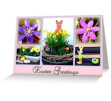 Easter Greetings Greeting Card