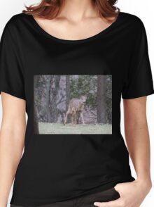 Okauchee Lake Deer Women's Relaxed Fit T-Shirt