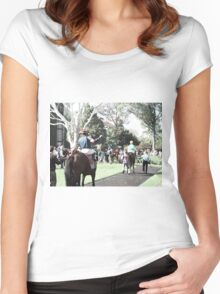 In The Paddock 2 Women's Fitted Scoop T-Shirt