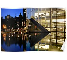 Salt Lake Library Reflection Poster