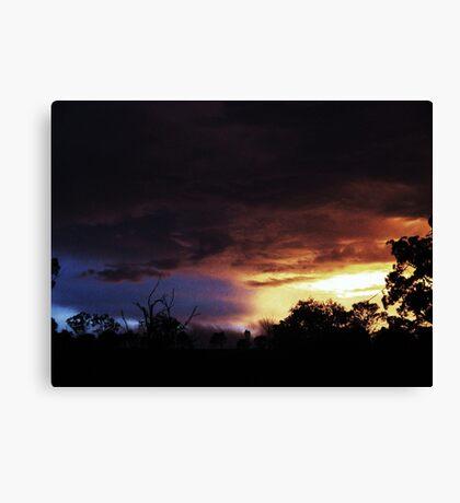 Light Vs Dark Canvas Print